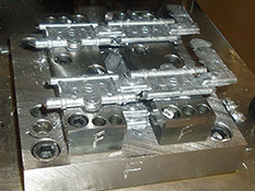 Aluminum and Zinc die casting metal parts